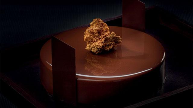 עוגת מוס קרמל - BARRY
