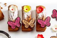 Mini cakes mariposa
