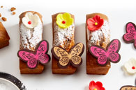 Monoporzioni farfalla