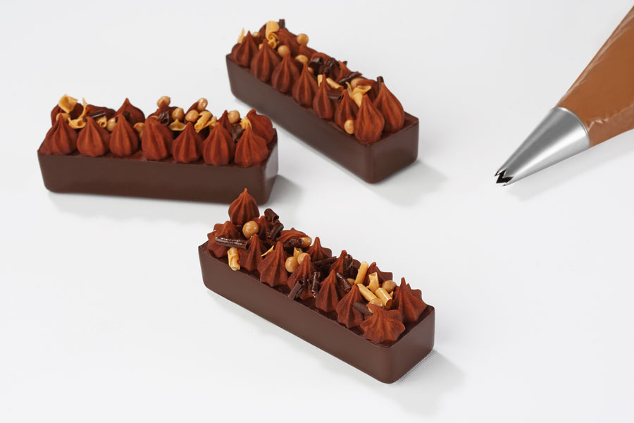 Façon barre snacking Inaya™ et Zéphyr™ caramel