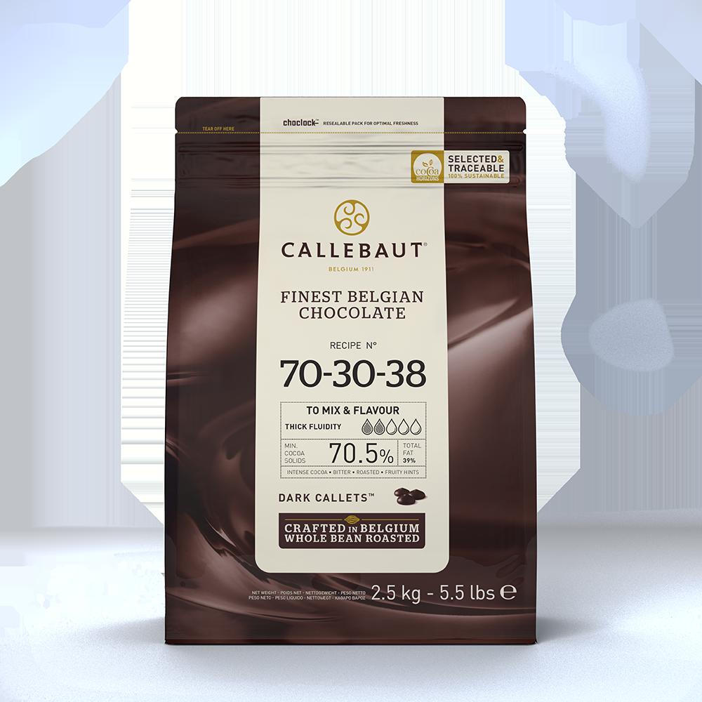 70 - 79% cacao - 70-30-38