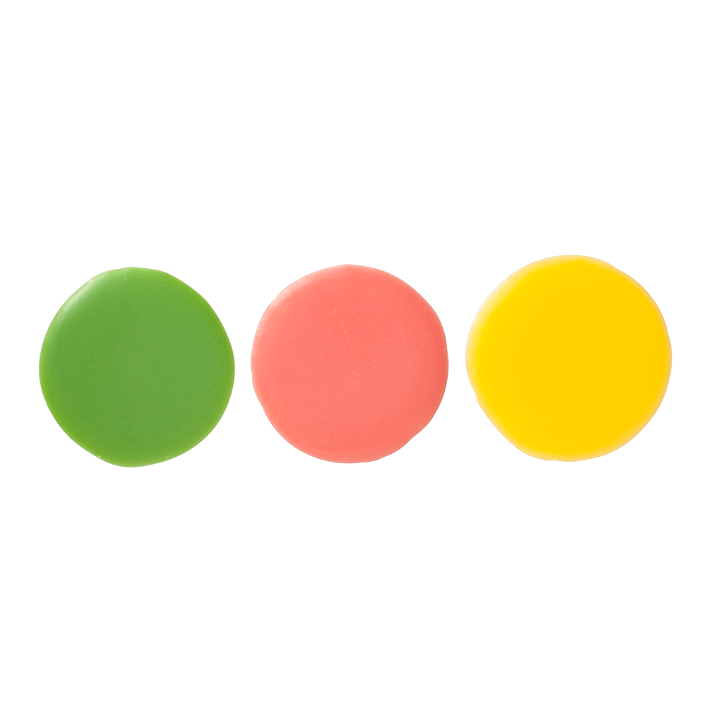 Signature decorations  (Jura) - Coloured Galettes Rounds