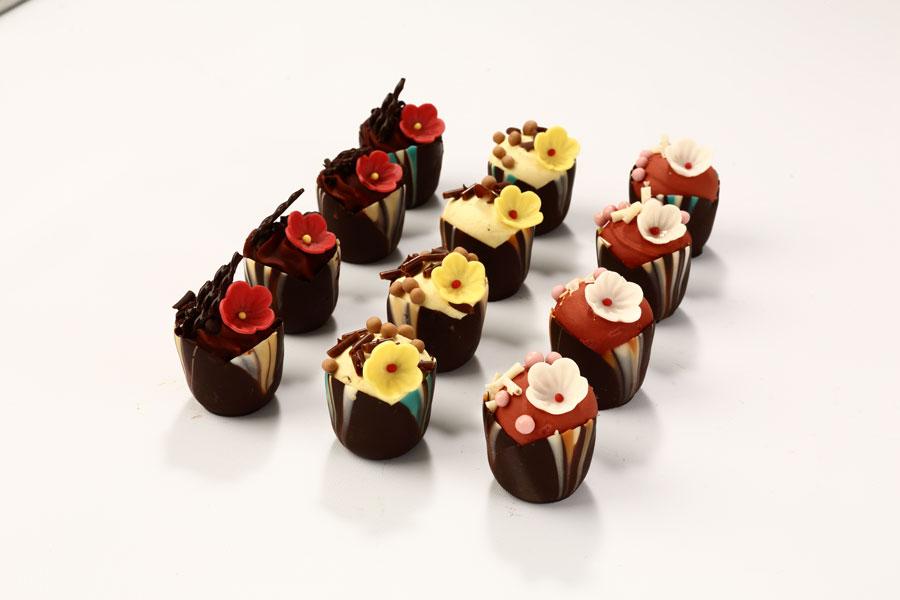 Mousse chocolat Inaya™ et framboise