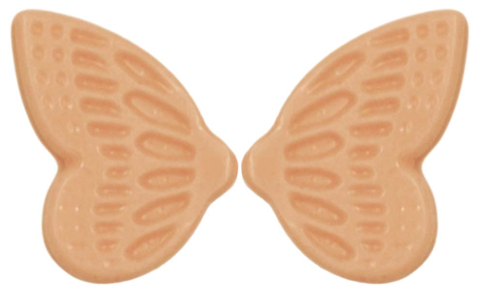 Signature decorations (Jura) - Butterfly Wings Pastel Orange