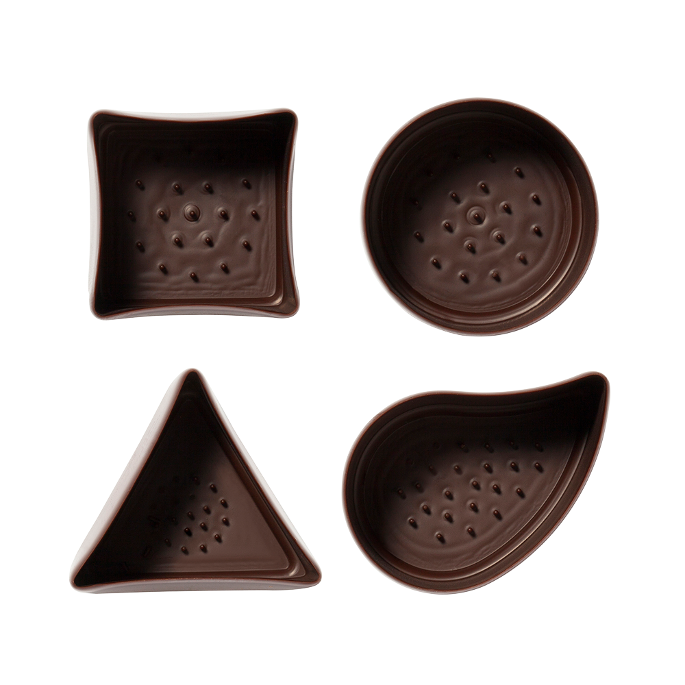 Vasos Surtidos - Dark Chocolate Assortment Cups