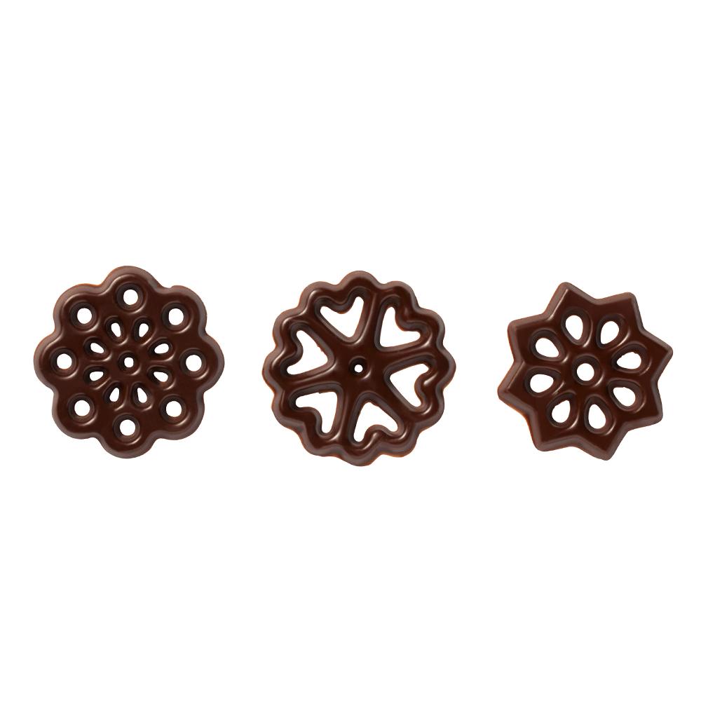 Décors fantaisie - Dark Chocolate Figurettes Assortment