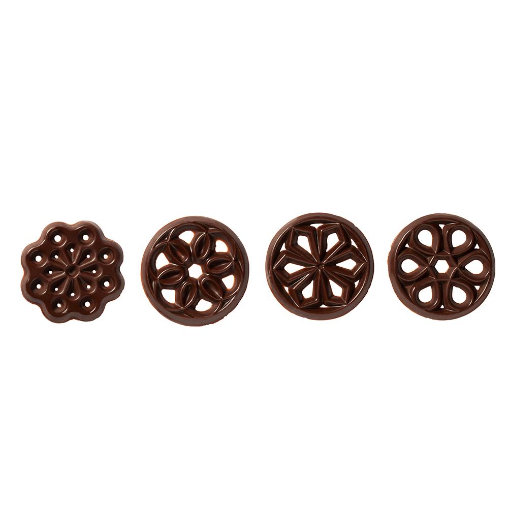 Signature decorations  (Jura) - Dark Chocolate Galarettes Assortment
