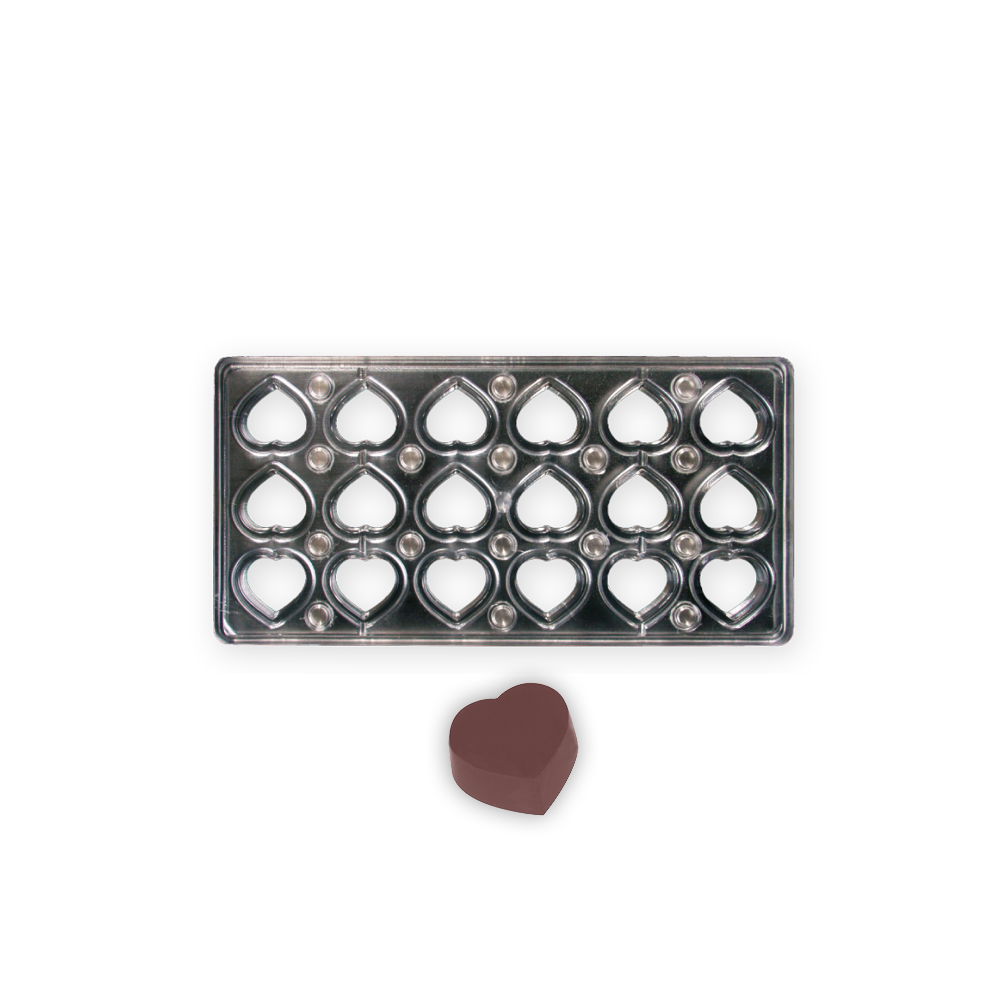 Heart - Magnetic Mould - 30x32x15mm