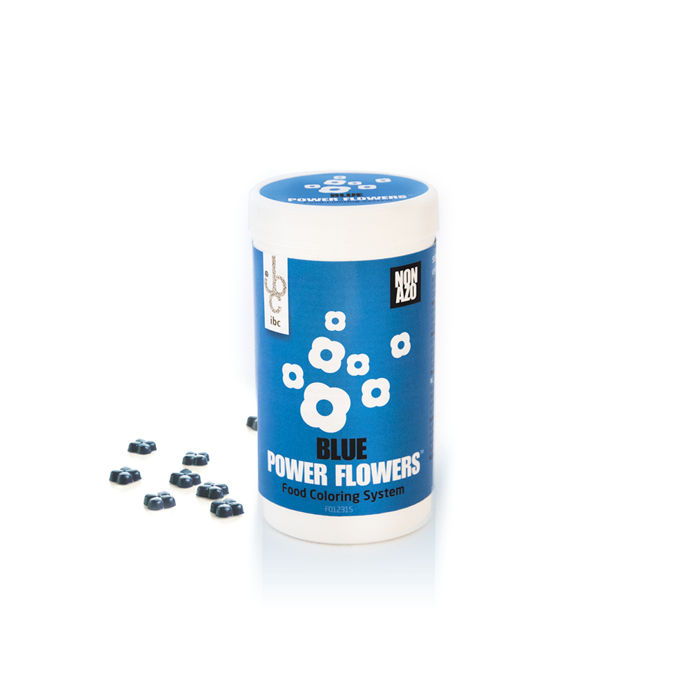 Power Flowers Classic Blue - Food Colorants - 50pcs