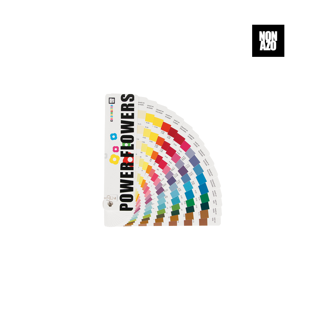 Power Flowers Color Master Non Azo - Food Colorant