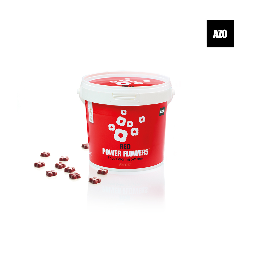 Power Flowers Azo Red
