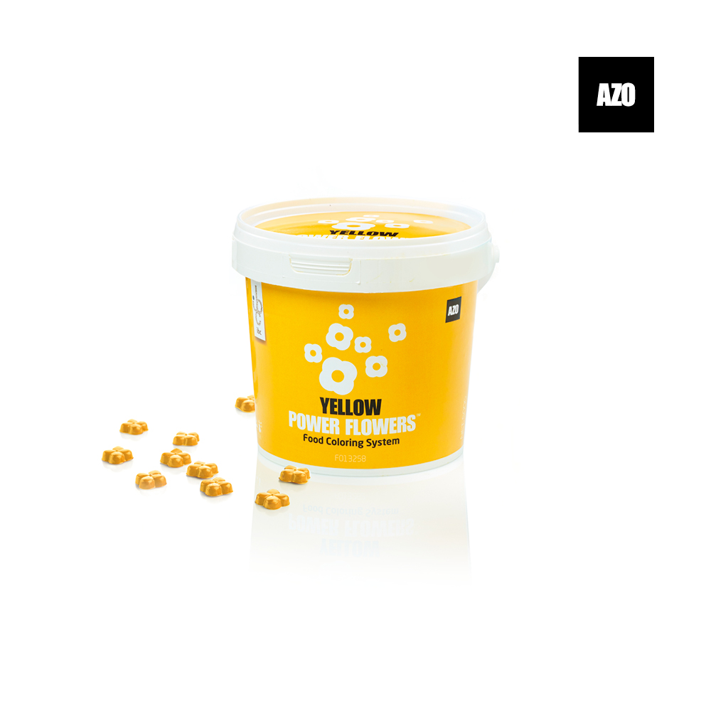 Power Flowers Azo Yellow - Food Colorant - 500gr