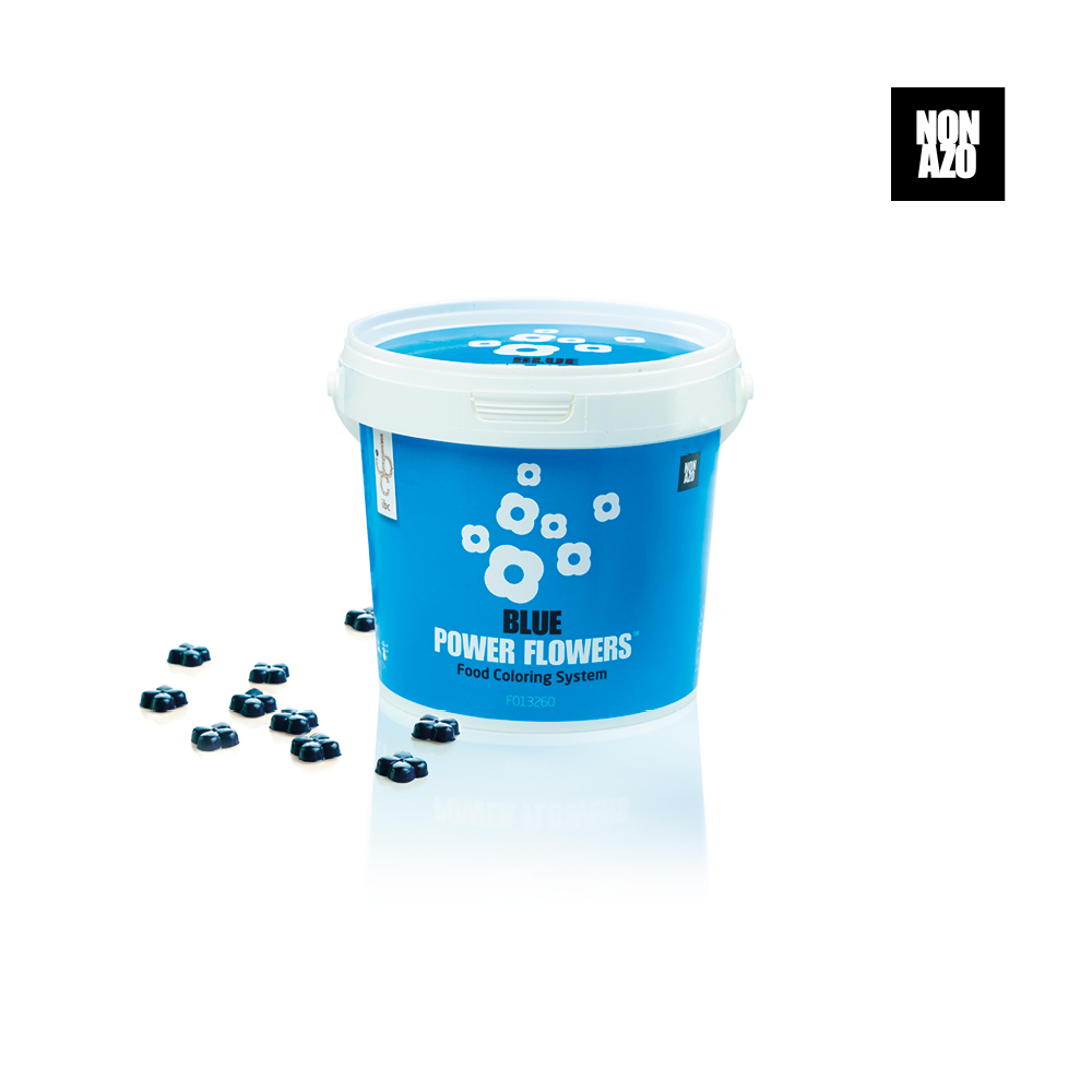 Power Flowers Classic Blue - Food Colorants - 500gr