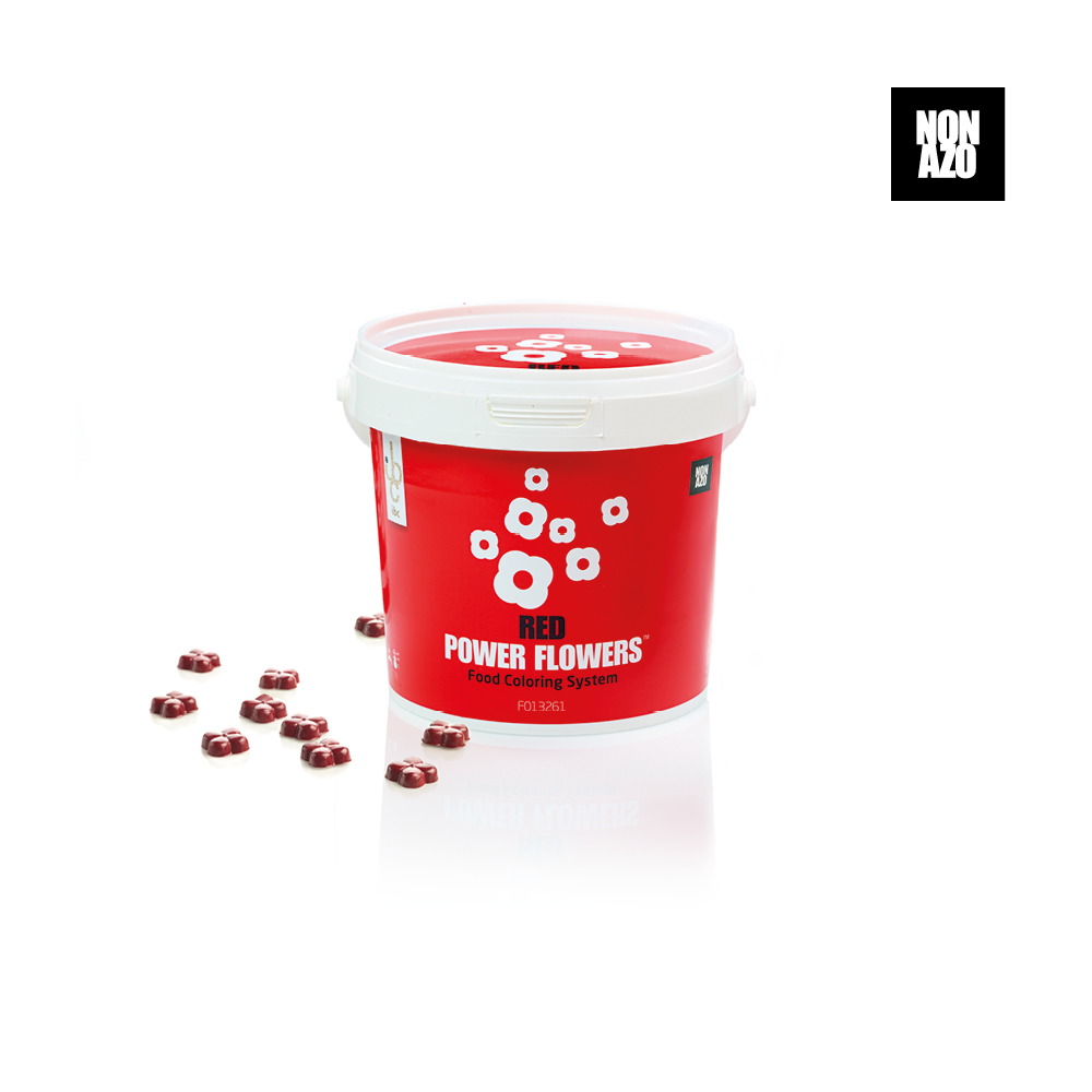 Power Flowers Classic Red - Food Colorants - 500gr