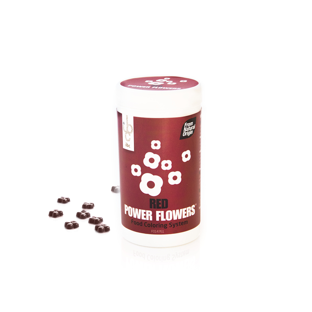 Power Flowers Beetroot Red - Food Colorants - 50 pcs - From Natural Origin