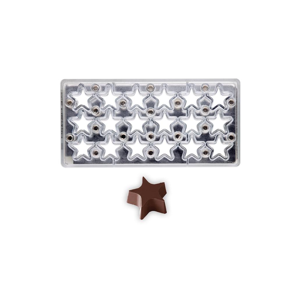 Stars - Magnetic Mould - 36x36x15mm