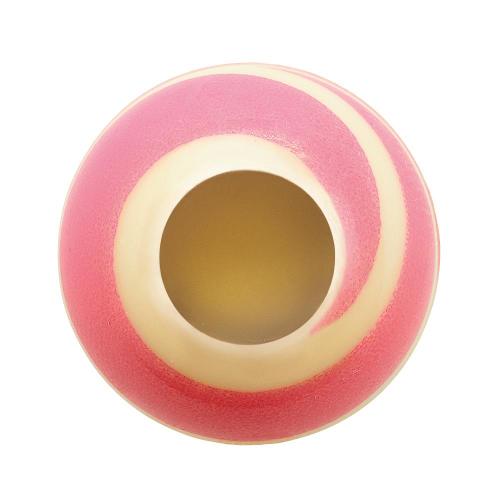 Swirly Pink - Chocolate Decorations - Truffle Shell - 63 pcs