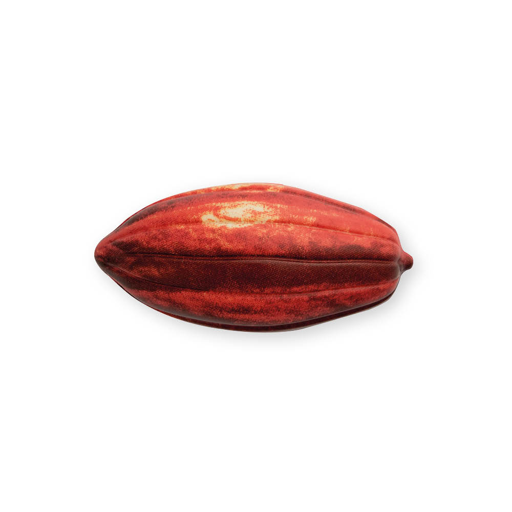 Natural Cocoa Pod Red - Chocolate Decorations - Cups - 12 pcs