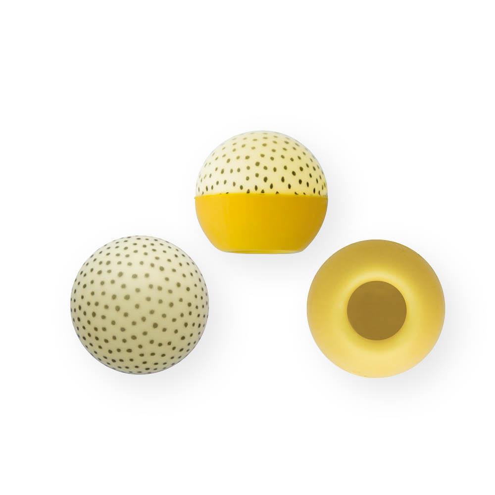 Dotted Yellow - Chocolate Decorations - Truffle Shell - 63 pcs