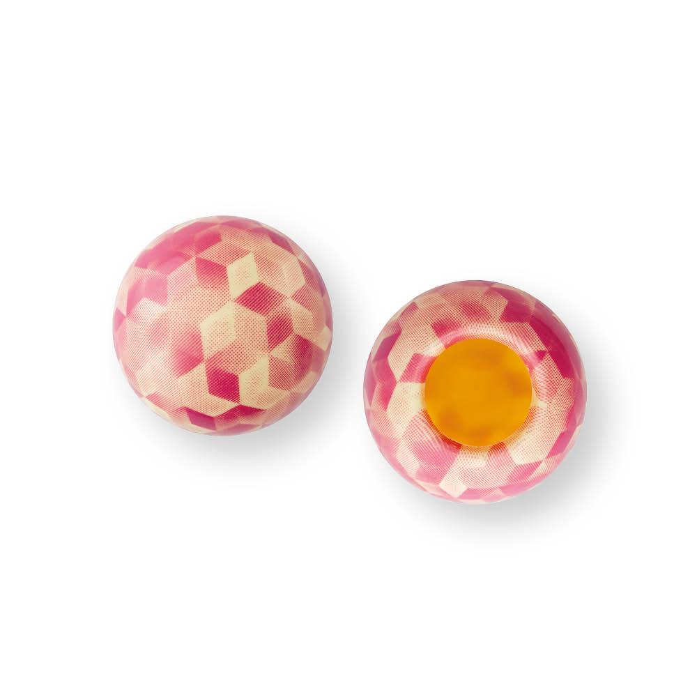 Framboise Shell - Chocolate Decorations - Dessert Shell - 63 pcs