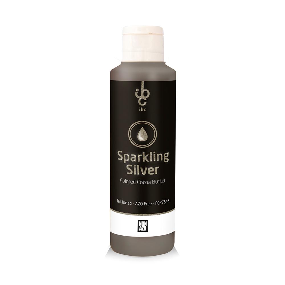 Colored Cocoa Butter Sparkling Silver - Food Colorant - 245gr