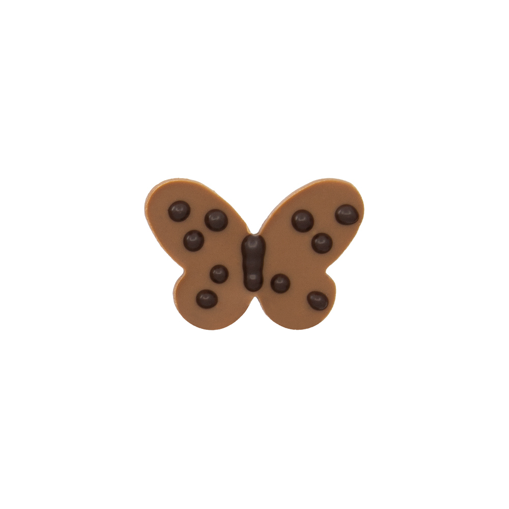 Original Butterfly - Chocolate Decorations - Butterfly Plaque - 196pcs
