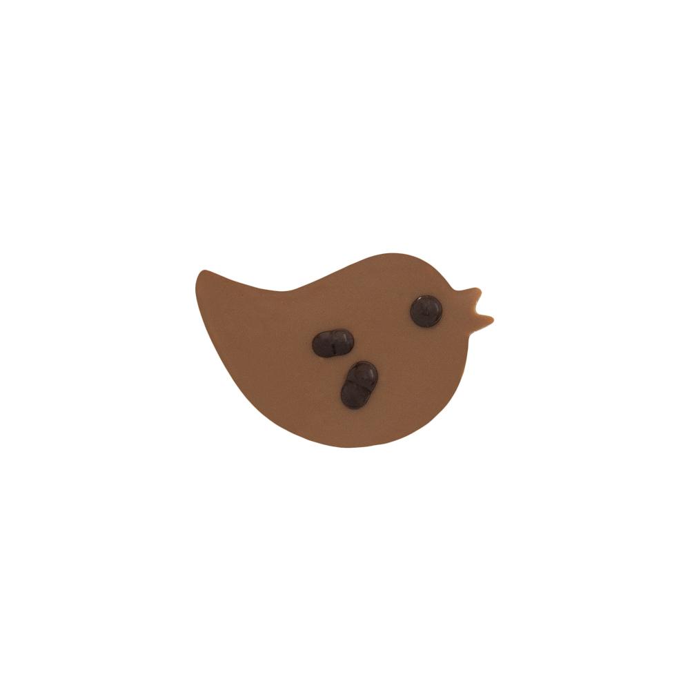 Original Bird - Chocolate Decorations - Bird Plaque - 196pcs