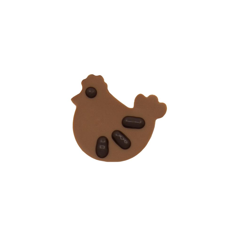 Original Hen - Chocolate Decorations - Chicken Plaque - 224pcs