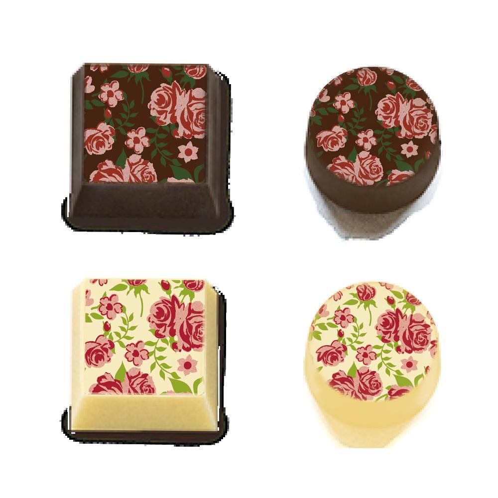 Rose Flowers - Transfer Sheets - 30 pcs