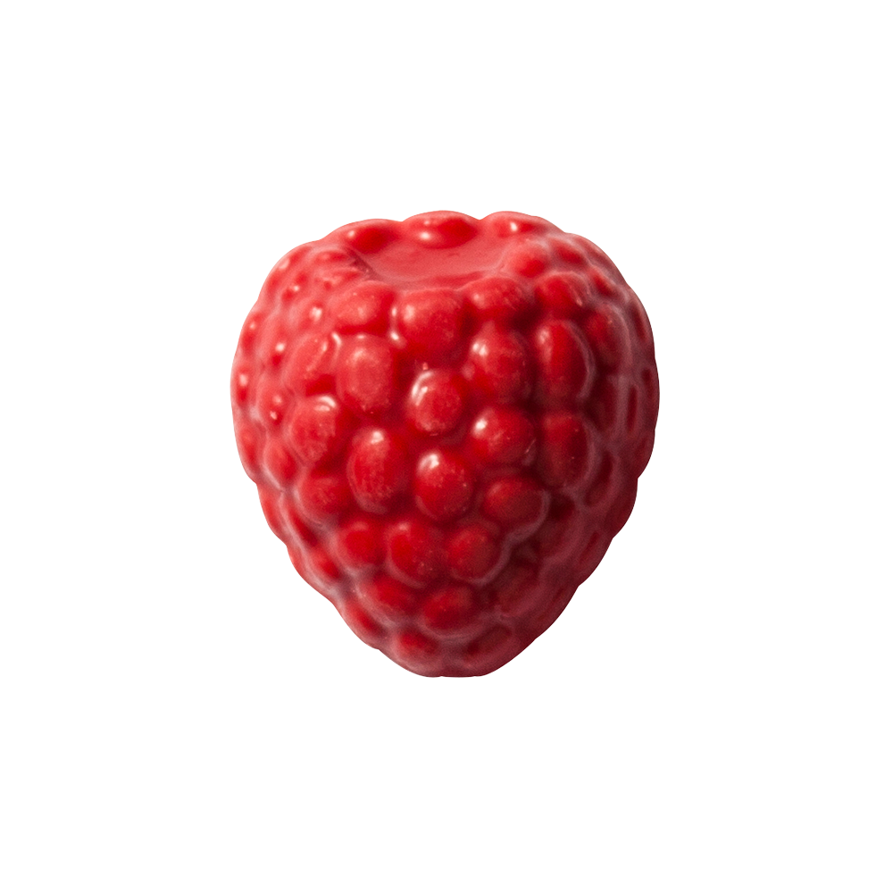 Fruit decorations - Flavoured Raspberries