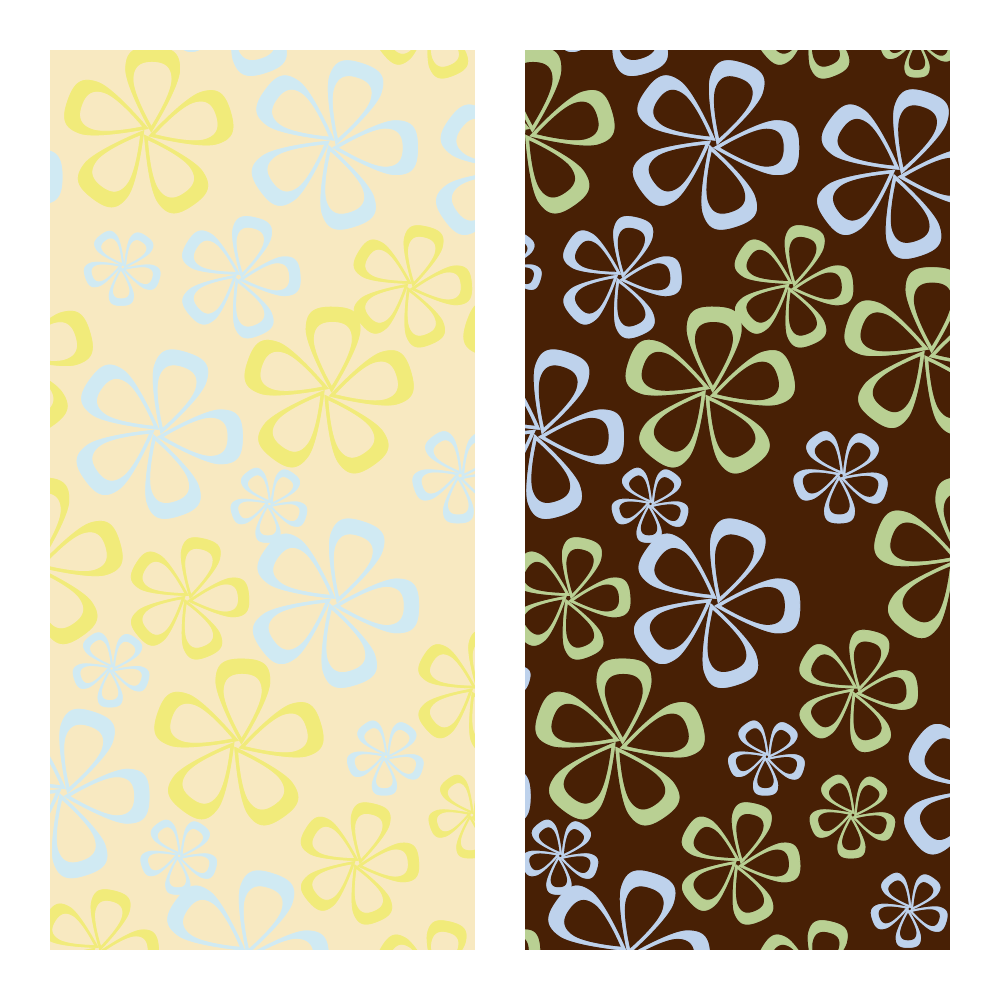 Transferfolien - Transfer Sheets Flower Wall