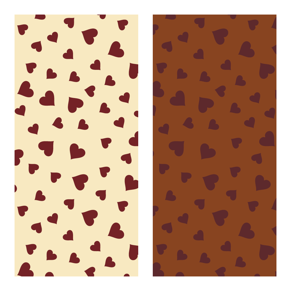 Feuille de transfert - Transfer Sheets Flying Hearts
