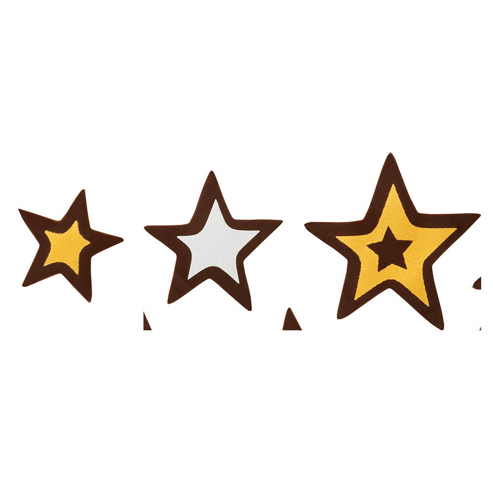 Christmas / Winter - Glitter Stars Assortment
