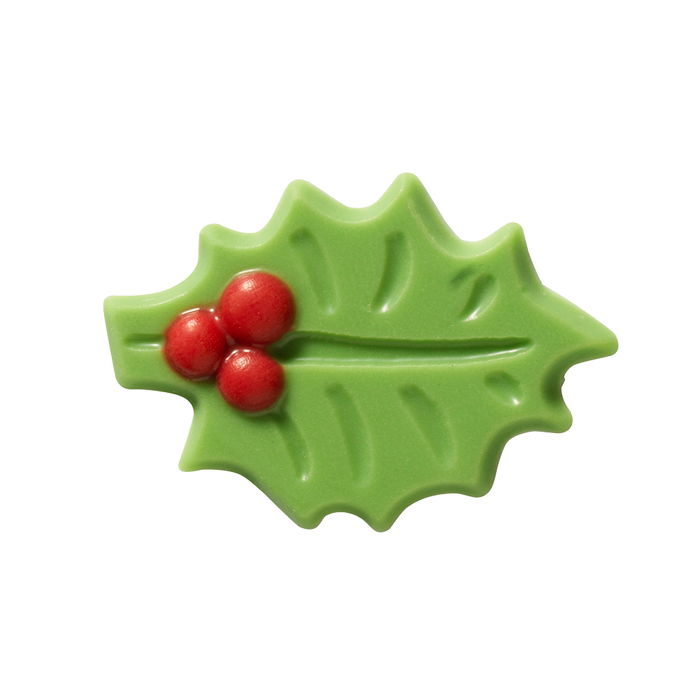 Christmas / Winter - Green Holly Leaf