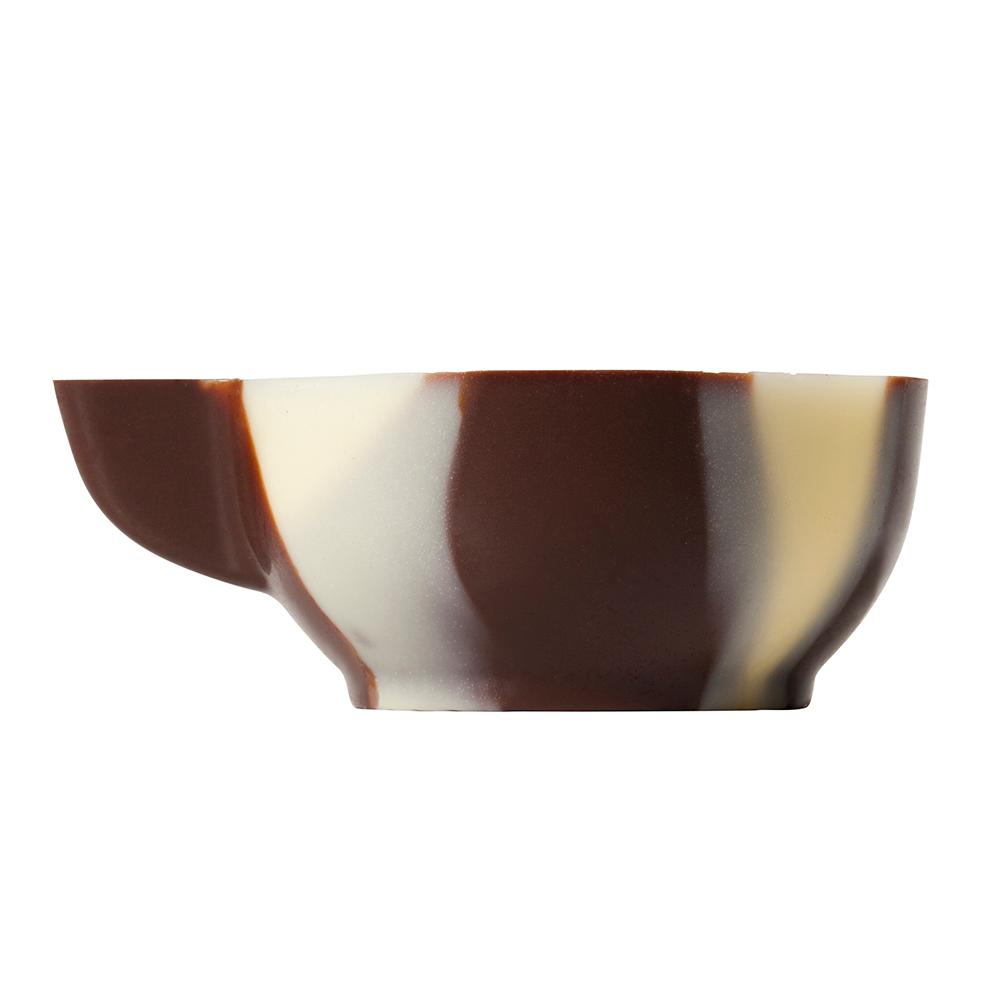 Marmorierte Schalen - Marbled Chocolate Espresso Cups