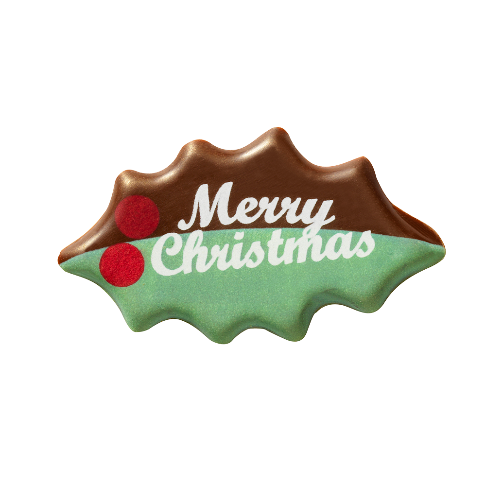 Navidad - Merry Christmas Leaf
