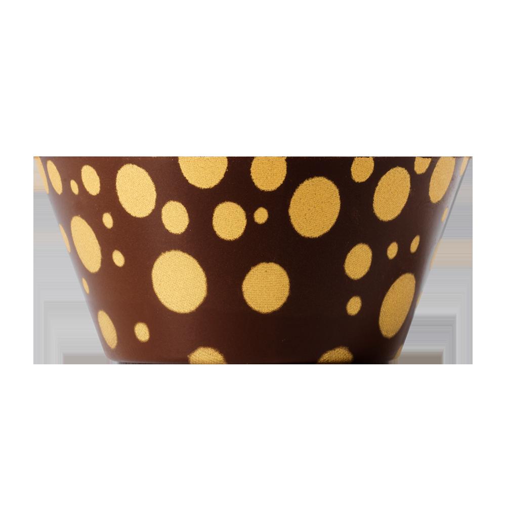 Coupes signature - Coupe bulle en chocolat noir