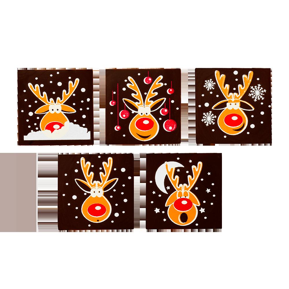 Christmas / Winter - Reindeer Square Assorment