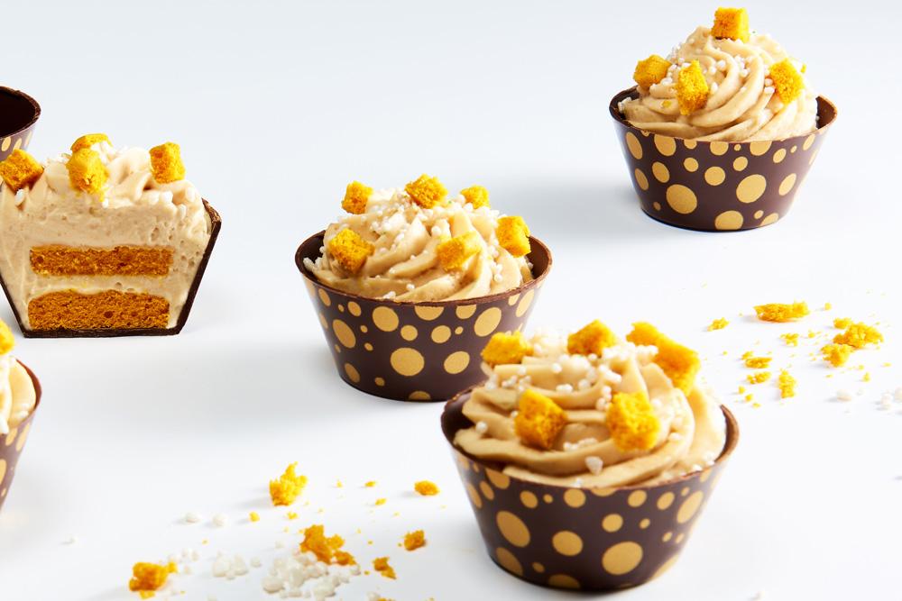 Bubbly Gold karamelglaasjes