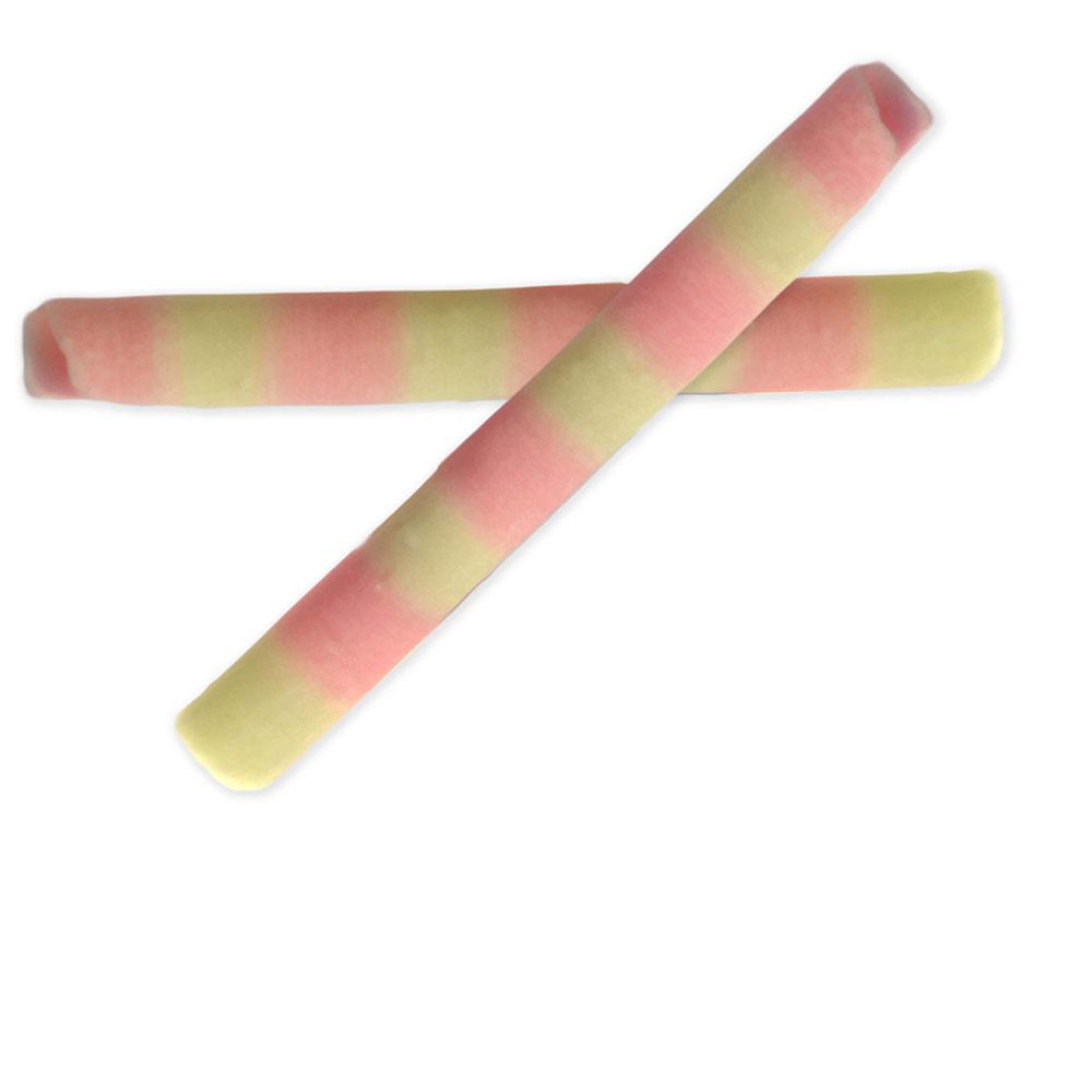 Chocolattos / rolls - Small Pink and Ivory Duo Chocolattos