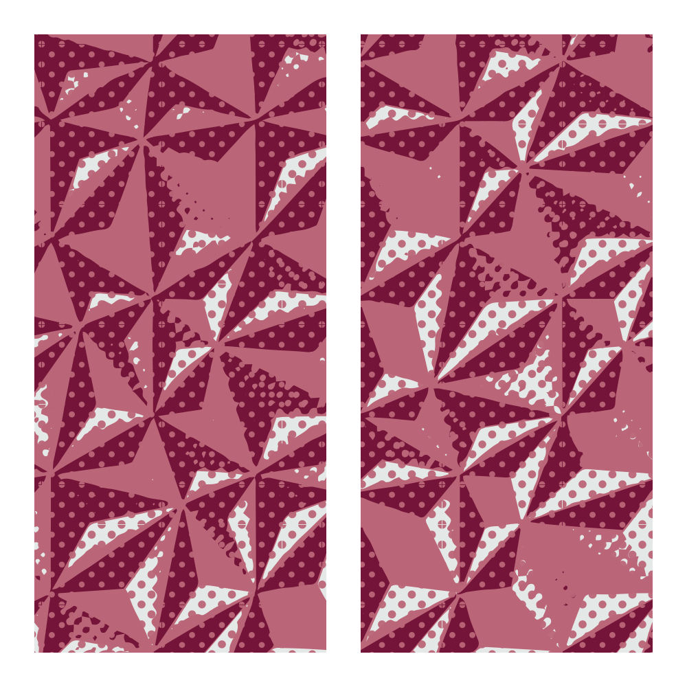 Trasferello - Trasferibili ruby hexagon
