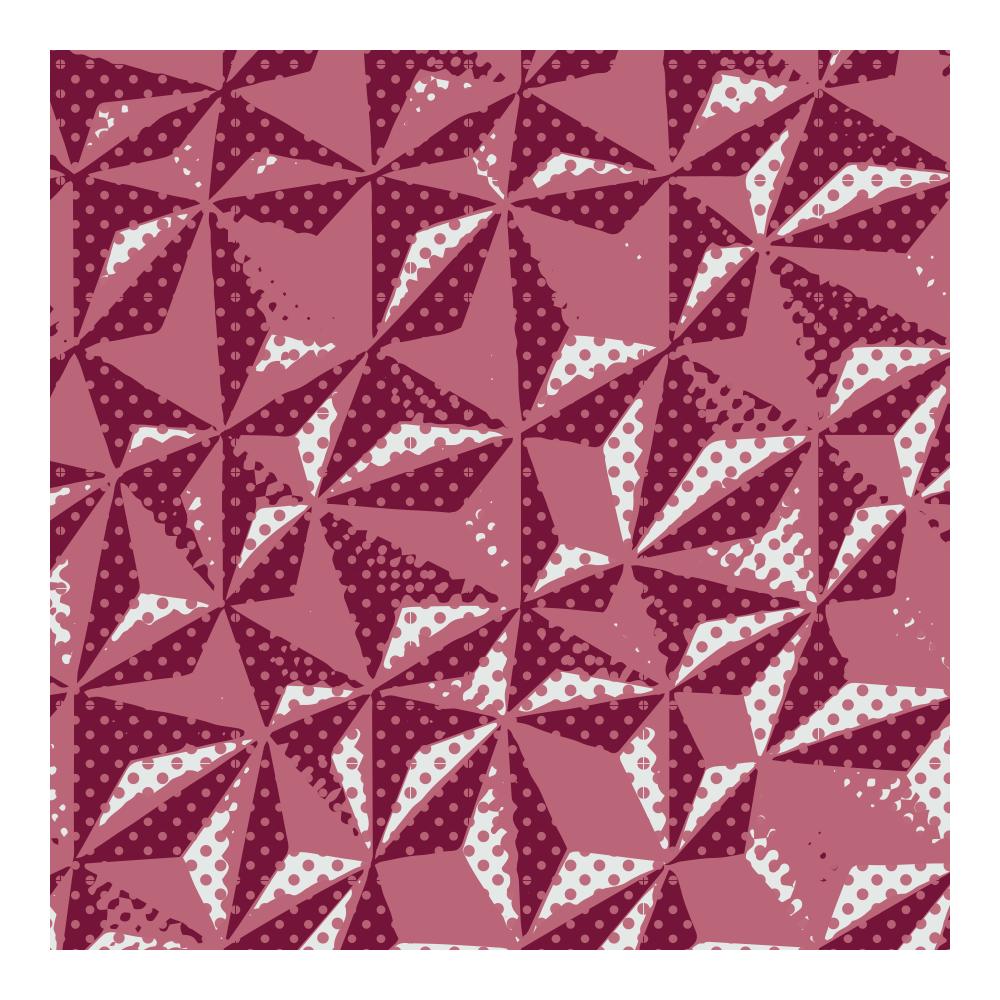 Transferfolien - Transfer sheets Ruby Hexagon