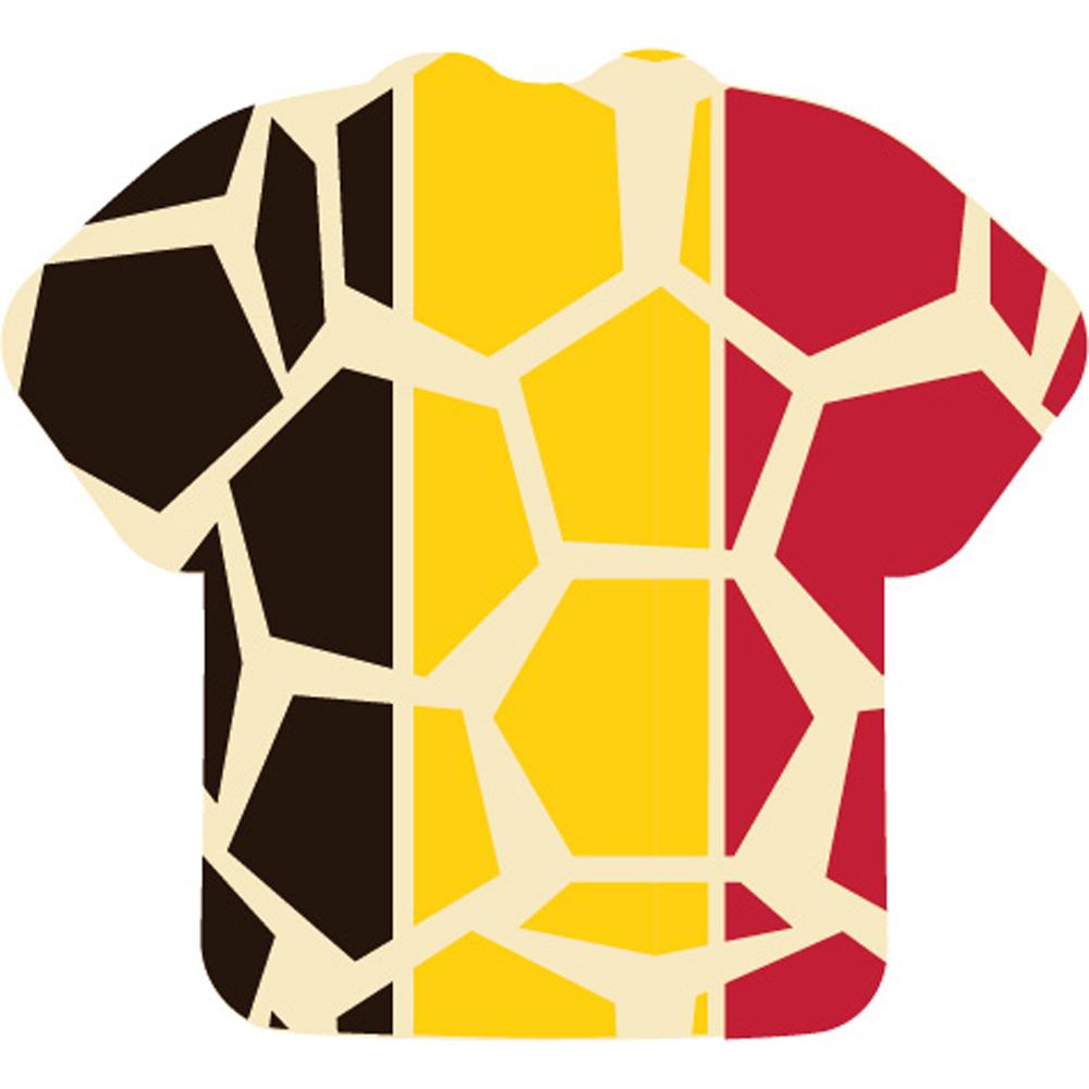 Coupe Mondial - Voetbalshirt Belgische vlag