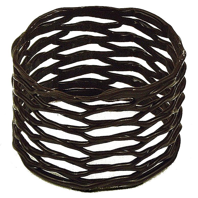 Large Napkin Ring Dark