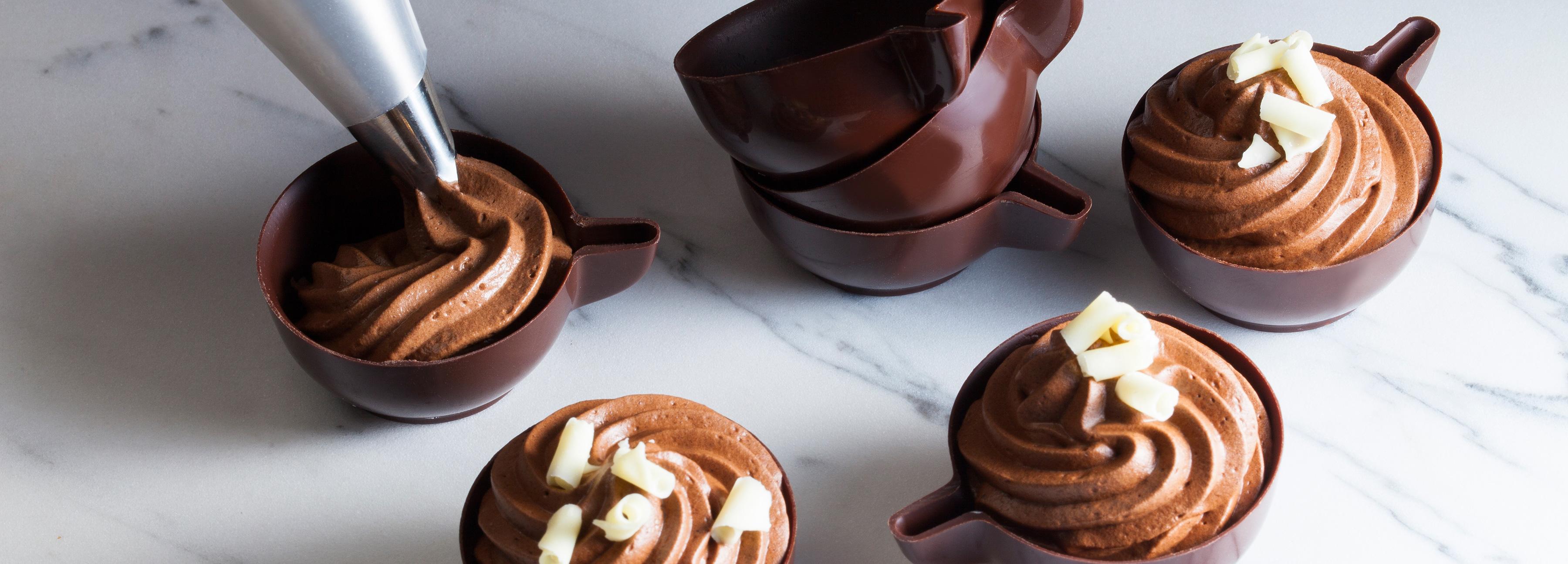 Chantilly al cioccolato fondente