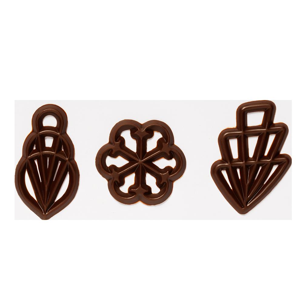Ornamente - Sugar free Chocolate Flilgrans