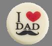 "Signature decorations (Jura) - I (heart) Dad  1"" Round"