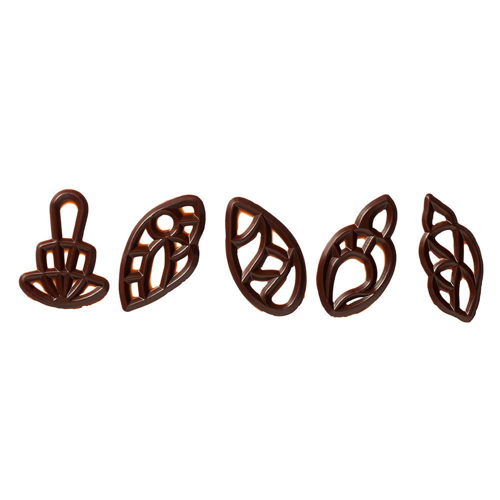 Decoraciones abiertas - Dark Chocolate Figurolas Assortment