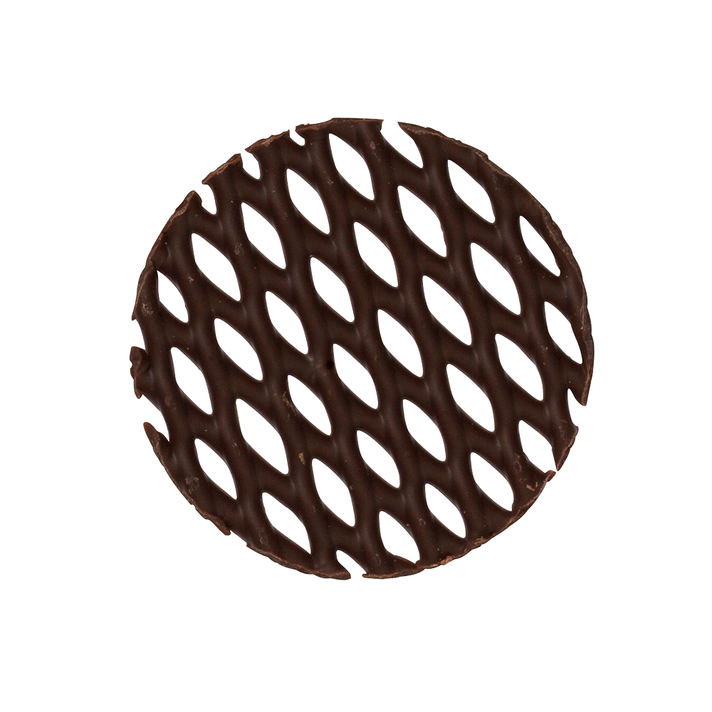 Grids - Dark Chocolate Mini Cake Tops
