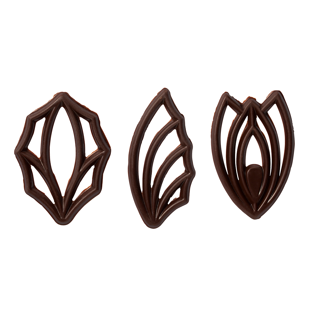 Open decoraties - Dark Chocolate Top Décor Assortment